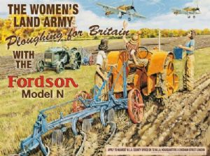 Fordson Womens Land Army metal sign  (og 4030)